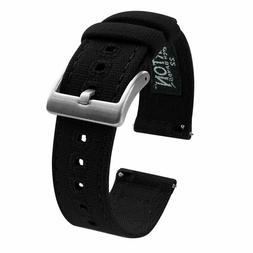 Barton Canvas Quick Release Watch Band Straps - Choose Color