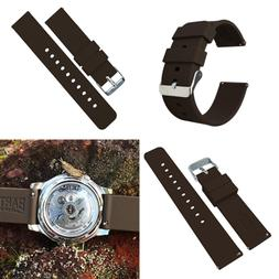 Barton Silicone Watch Bands Quick Release Straps Choose Colo