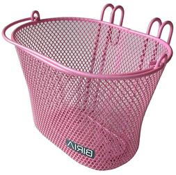 Biria Basket with hooks PINK, Front, Removable, wire mesh SM