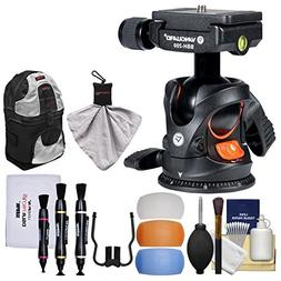 Vanguard BBH-200 Ball Head with Quick Release with Backpack
