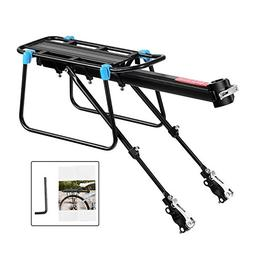 Bicycle Cargo Rack, Universal Adjustable Bike Carrier Rack Q