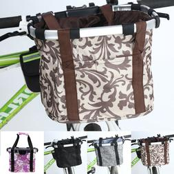 Bicycle Foldable Carrier Quick Release Easy Cycling Handleba