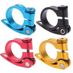 Caden Cycles Bicycle Seatpost Alloy Quick Release Seat Clamp