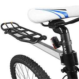 bicycle seatpost mounted commuter carrier