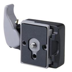 Vktech Black Camera 323 Quick Release Plate