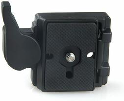 Konsait Black Camera 323 Quick Release Plate with Special Ad