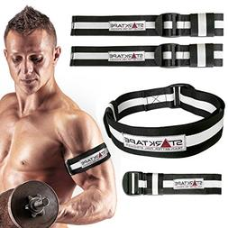 Blood Flow Restriction Bands | 4 Pack Occlusion Training Ban