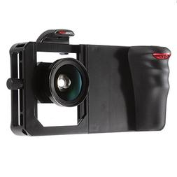 Fotga Bluetooth Cell Phone Mount Cage Holder Stabilizer + Wi