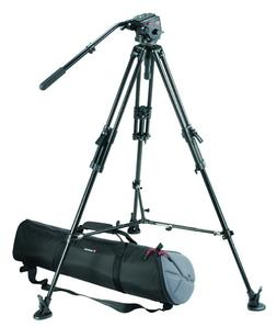 Bogen / Manfrotto Pro Video Kit w/351MVB2 Aluminum Tripod Le