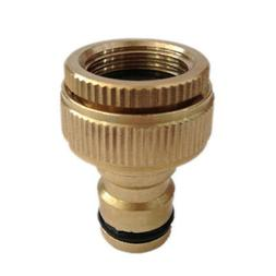 Brass Garden Tap Hose Pipe Connection Quick Release Hosepipe