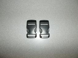 Buckle quick release type black pair quality construction 1