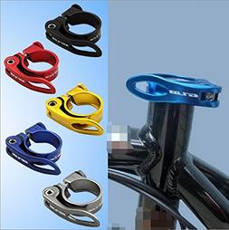 Gub 34.9mm Caliber Alloy MTB BMX Bike Seat Post Clamp QR Qui