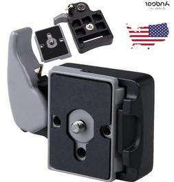Camera 323 Quick Release Clamp Adapter + QR Plate for Manfro