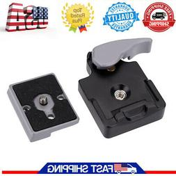 Camera 323 Quick Release Clamp Adapter with QR Plate for Man