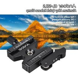 Andoer Camera Tripod Quick Release Clamp Lever Knob-Type 1/4