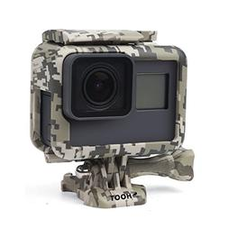 SHOOT Camouflage Gray Protective Frame Mount Stand Housing C