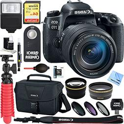 Canon EOS 77D 24.2 MP Digital SLR Camera with EF-S 18-135mm