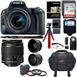Canon EOS Rebel SL2 DSLR Camera, EF-S 18-55mm STM, Sandisk 6