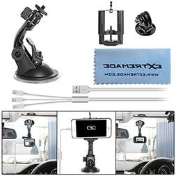 Extremade Car Suction Cup Mount for GoPro/Action Camera/iPho