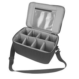 Koolertron Camera Case DSLR Camera Insert Bag Purse Universa