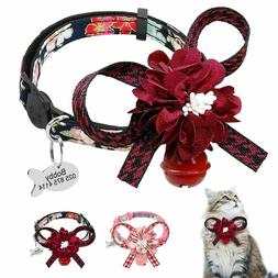 Cat Collar Quick Release Personalized Cat ID Collars Bell Do