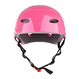 MagiDeal CE Approved Water Sports Safety Helmet S/M/L - Pink