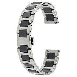 for Samsung Galaxy Watch 46mm Watchband, TRUMiRR 22mm Cerami