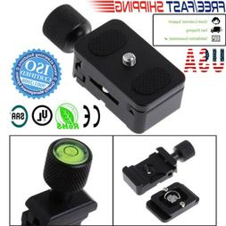 1/4 Quick Release QR Plate Clamp Adapter Mount 30MM For Came