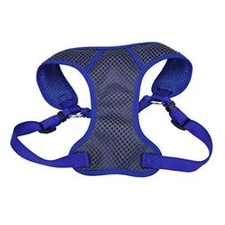 Comfort Soft Sport Wrap Adjustable Dog Harness , Blue)