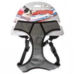 Comfort Soft Sport Wrap Adjustable Dog Harness , Black)