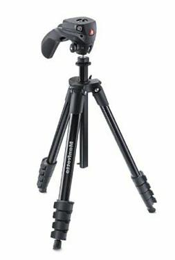 Manfrotto Compact Action Aluminum 5-Section Tripod Kit with