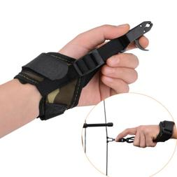 Compound Bow Release Aid Wrist Trigger Adjustable Strap Quic