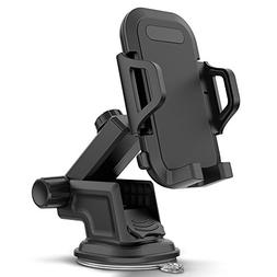 Maxboost Dashboard & Windshield Car Phone Mount Holder with
