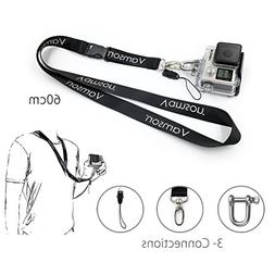 Vamson 60cm Detachable Long Neck Strap Lanyard Sling with Qu