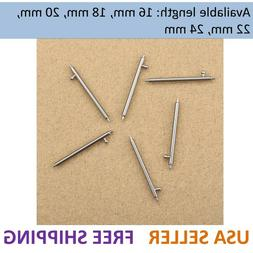 Detachable Pins Quick Release Spring Bar Watch Band Spair To