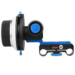 Foto4easy DP3000 DSLR Follow Focus A/B Hard Stops + Speed Cr