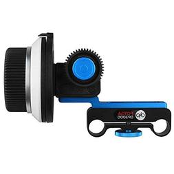 Foto4easy DP3000 M1 DSLR Follow Focus for 15mm Rod Rig,Suppo
