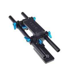 Poplar Dp500 Dslr Rail 15mm Rod Rig Support System Quick Rel