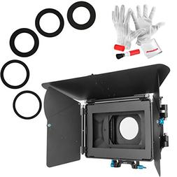 Fotga DP500 Mark III Matte Box Sunshade with Pergear Clean K