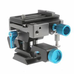 FOTGA DP500III Adjustable Quick Release Baseplate Clamp for