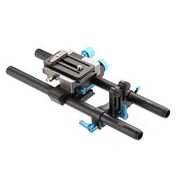 Fotga DP500 III 15mm Rail Rod Baseplate Rig with Dovetail an
