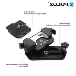 PULUZ For DSLR Camera Clip Clamp Aluminum Alloy Quick Releas