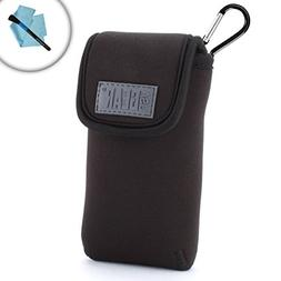 Dual Band Handheld Transceiver Travel Sleeve Pouch with Carr