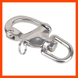 Durable Stainless Steel Snap Shackles Quick Release Swivel B