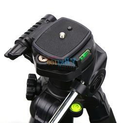Durable Tripod Quick Release Plate Adapter Head Mount BT For