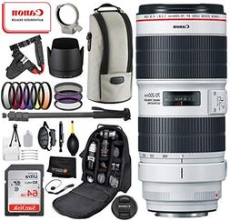 Canon EF 70-200mm f/2.8L is III USM Lens with Professional B