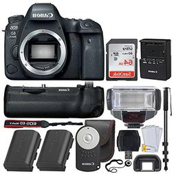 Canon EOS 6D Mark II DSLR Camera  Wi-Fi Enabled - Canon BG-E