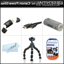 Essentials Accessory Kit For Canon PowerShot SD4500IS Sd4500