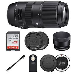 Sigma 100-400mm f/5-6.3 DG OS HSM Contemporary Lens for Cano