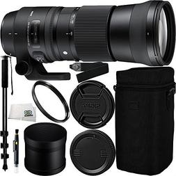 Sigma 150-600mm f/5-6.3 DG OS HSM Contemporary Lens for Cano